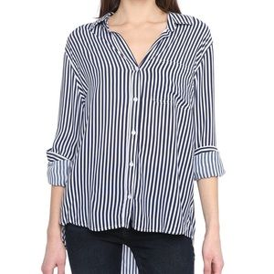 NWT South Moon Under Striped Blouse
